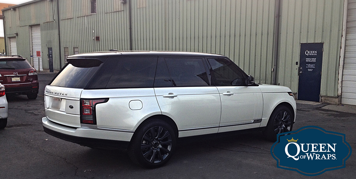 Range Rover Paint >> Custom Vinyl Car Wraps | Utah | Queen of Wraps