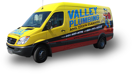 Vehicle advertising for Valley Plumbing