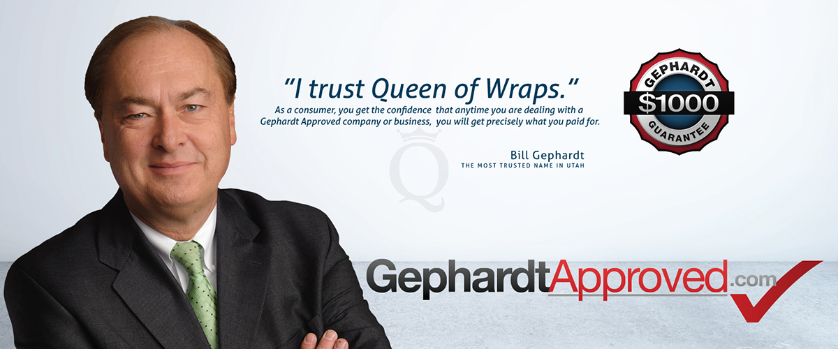 Bill Gephardt trusts queen of wraps