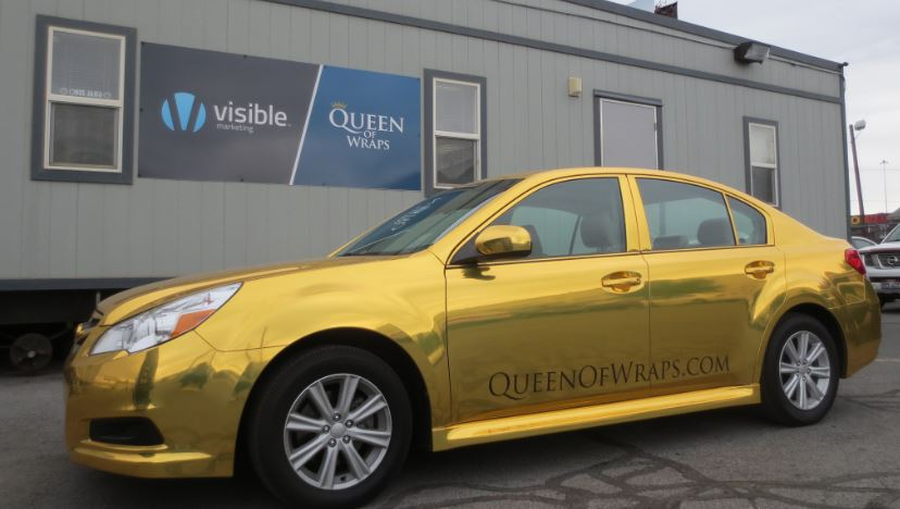 queen of wraps vehicle wraps