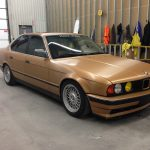 BMW_Gold_vinyl_car_wrap