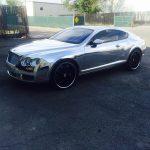 Bentley_Chrome_vinyl_car_wrap